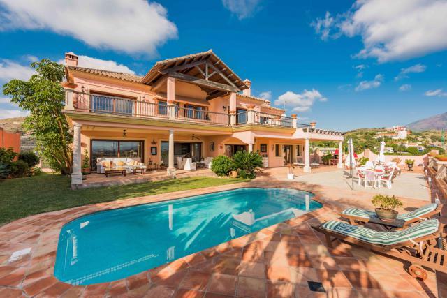 Luxusní vila La Alqueria, Benahavis ref. MLV2378